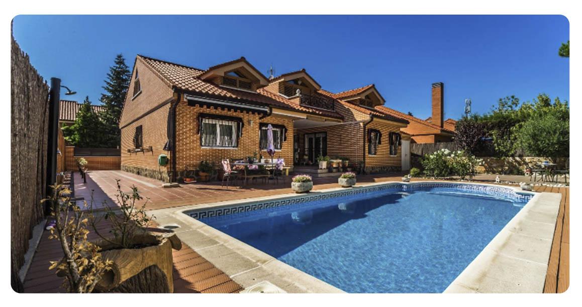 acheter maison madrid rivas piscine vue