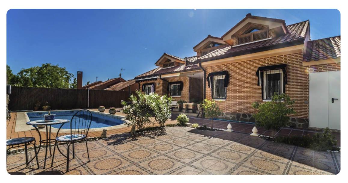 acheter maison madrid rivas piscine