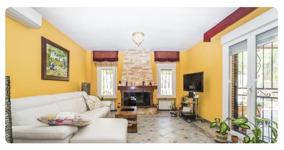 acheter maison madrid rivas salon