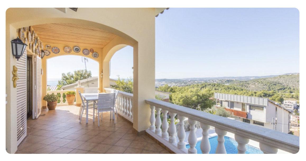 acheter maison sitges montgavina terrasse