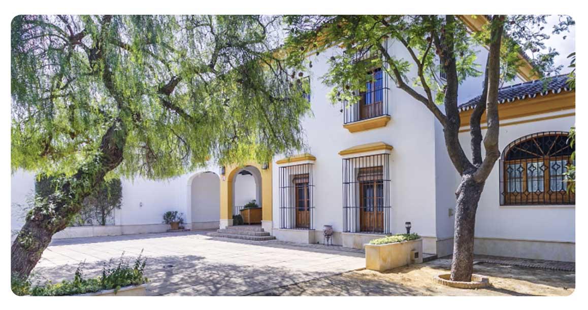 acheter maison typique andalouse seville entree