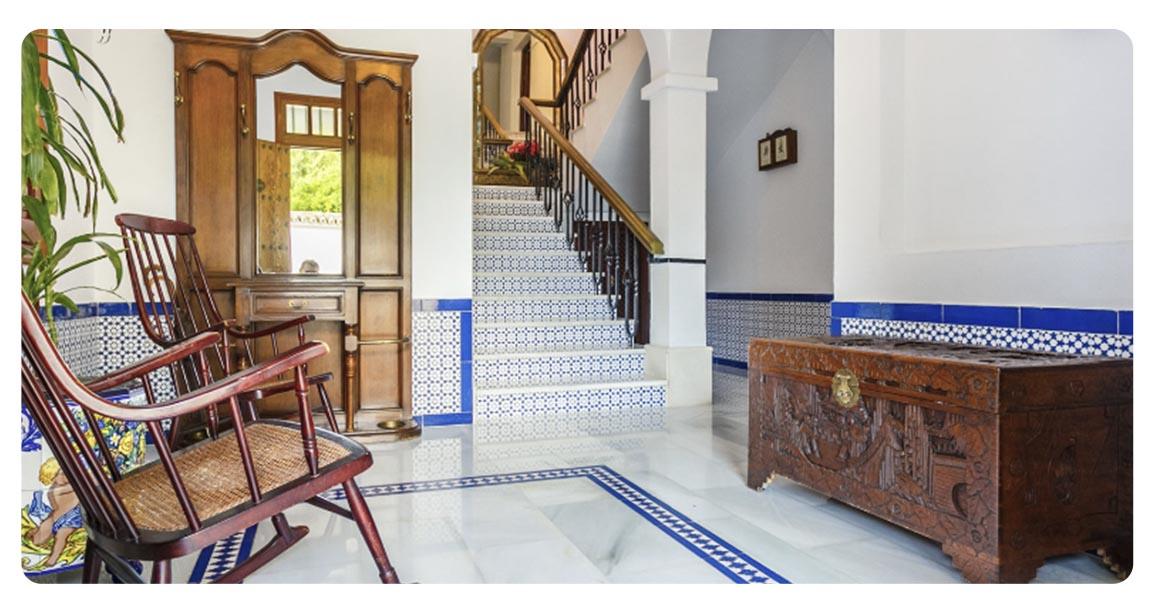 acheter maison typique andalouse seville recepteur