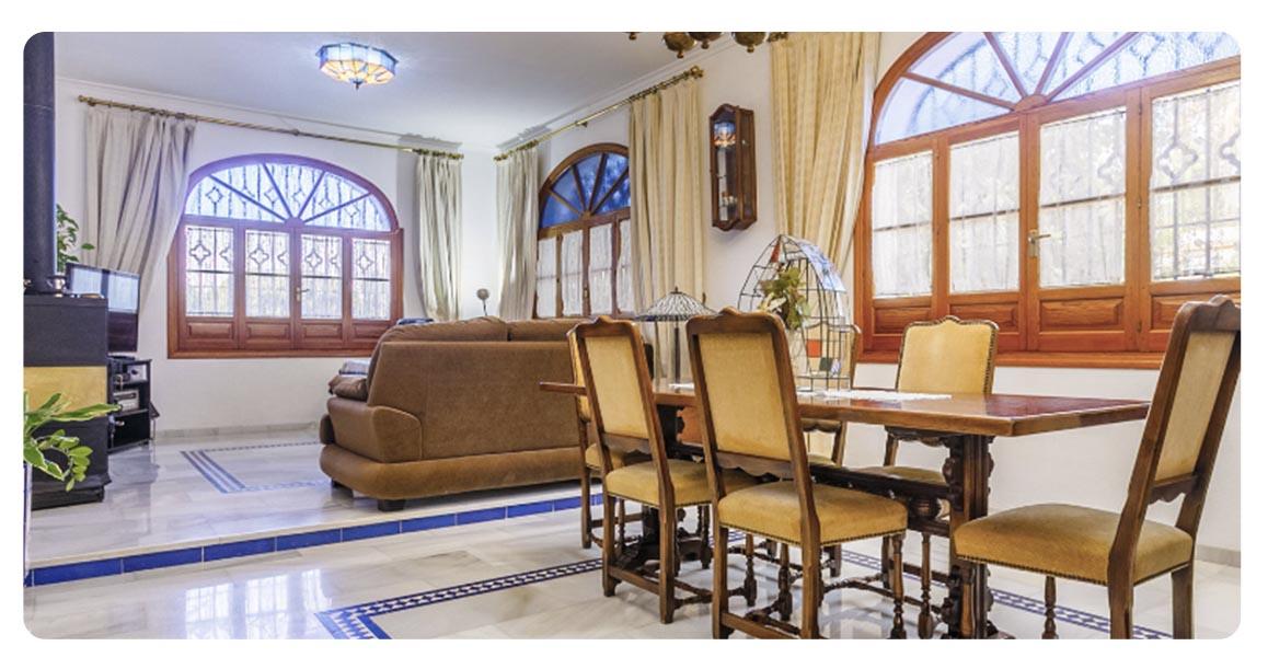 acheter maison typique andalouse seville salon