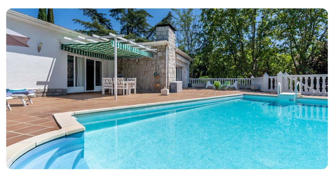 acheter maison villa madrid mirasierra piscine 2