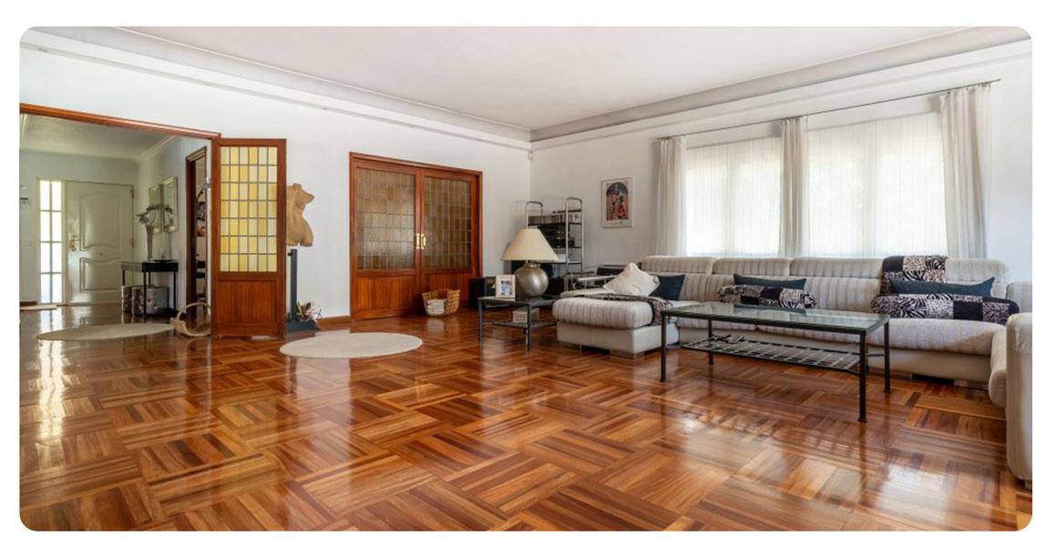 acheter maison villa madrid mirasierra salon 2