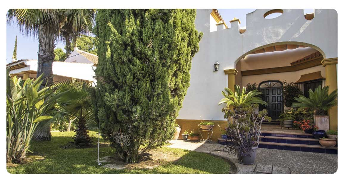 acheter maison villa seville espartinas entree 2