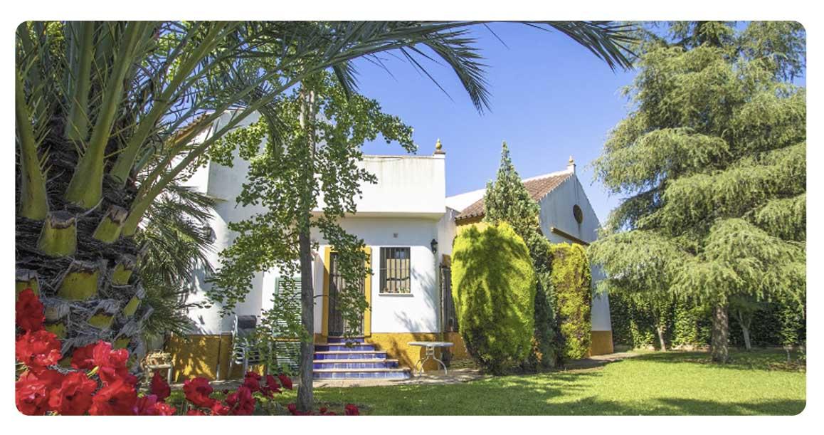 acheter maison villa seville espartinas exterieur