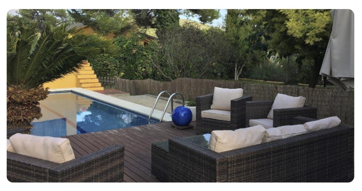 acheter maison ville sitges centre piscine 2