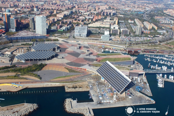 Plaça del forum de Barcelona