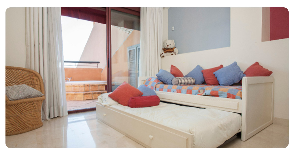 acheter appartement atico bahia marbella chambre