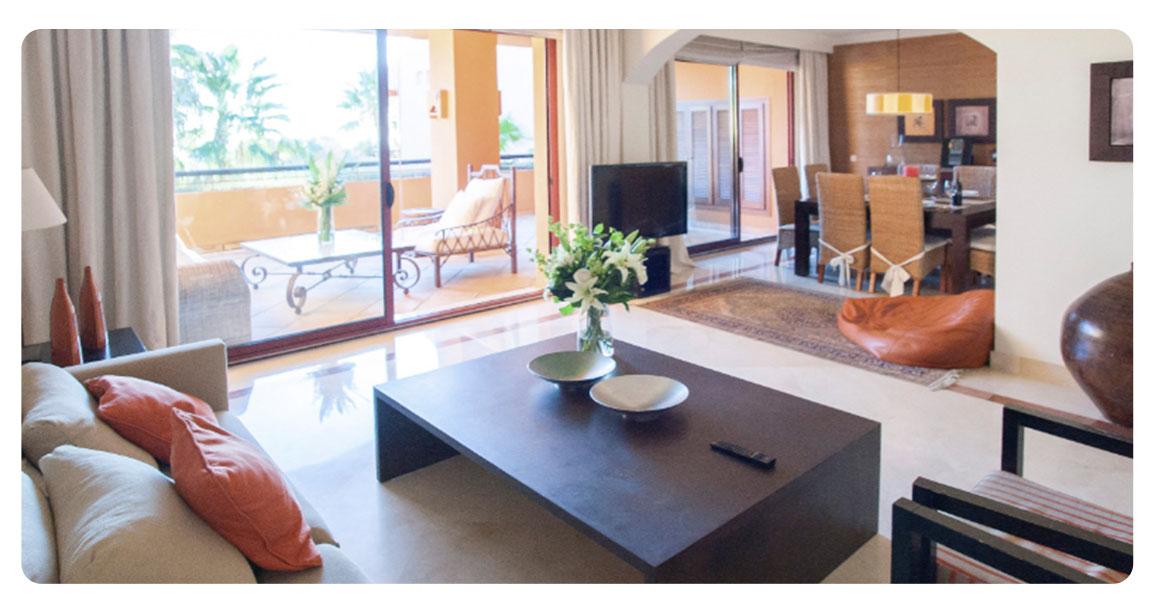 acheter appartement atico bahia marbella salon