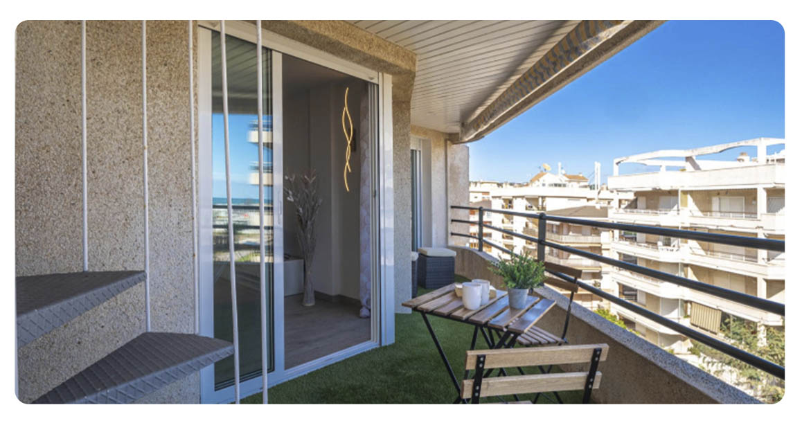 acheter appartement atico tarragone segur de calafell balcon