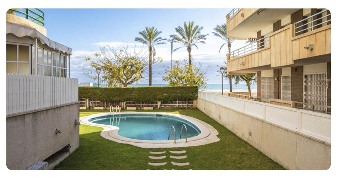 acheter appartement atico tarragone segur de calafell piscine