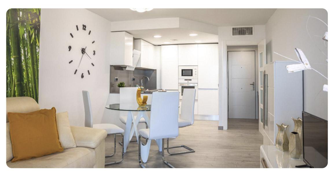 acheter appartement atico tarragone segur de calafell salle a manger