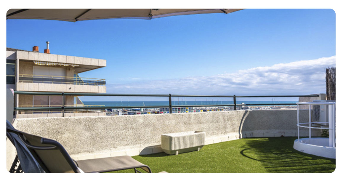 acheter appartement atico tarragone segur de calafell terrasse