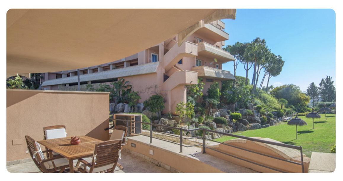 acheter appartement grand marbella terrasse vue