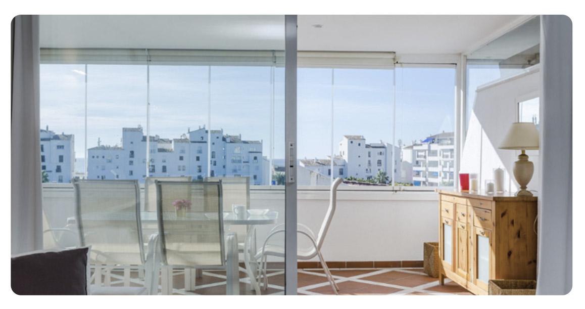 acheter appartement puerto banus marbella terrasse