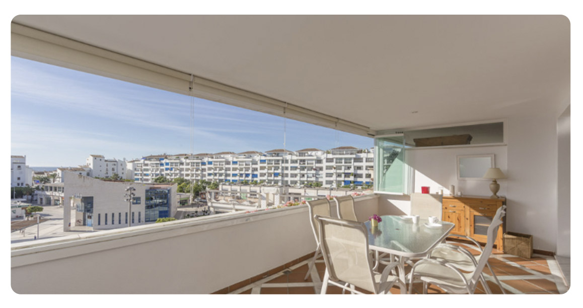 acheter appartement puerto banus marbella vue