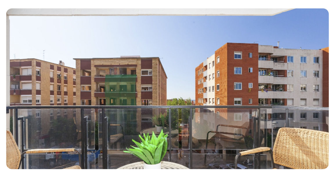 acheter appartement tarragone nou eixample nord balcon