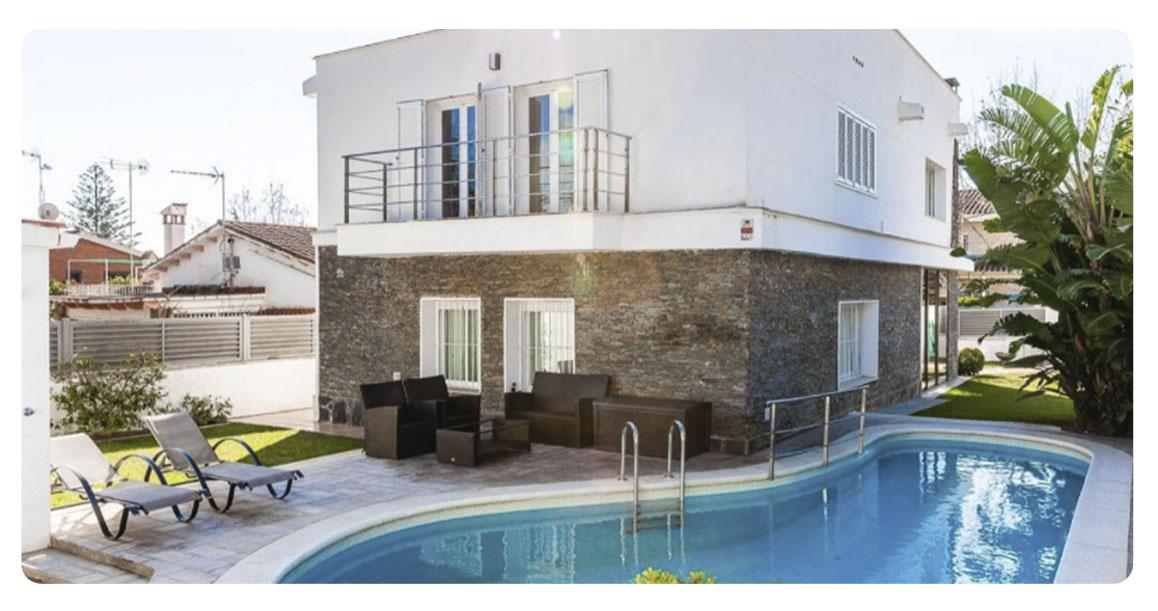 acheter maison castelldefels montmar exterieur