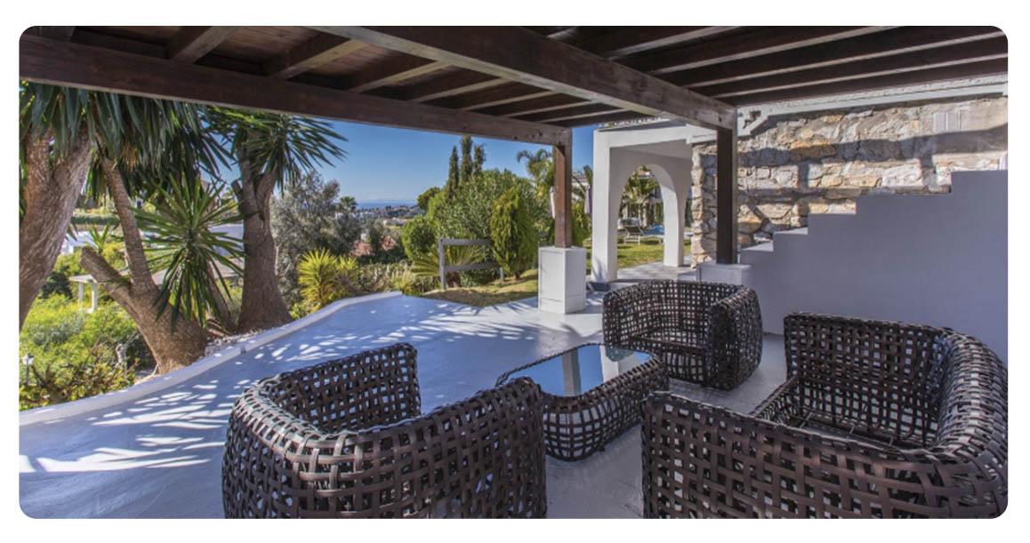 acheter maison marbella el rosario terrasse