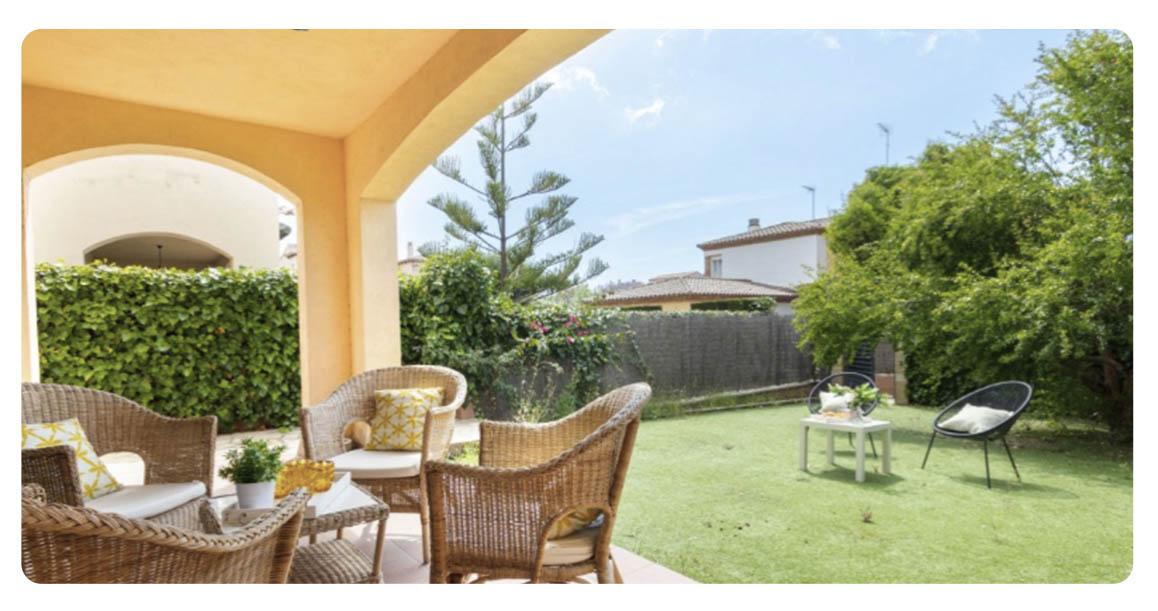 acheter maison mitoyenne tarragone jardin 2