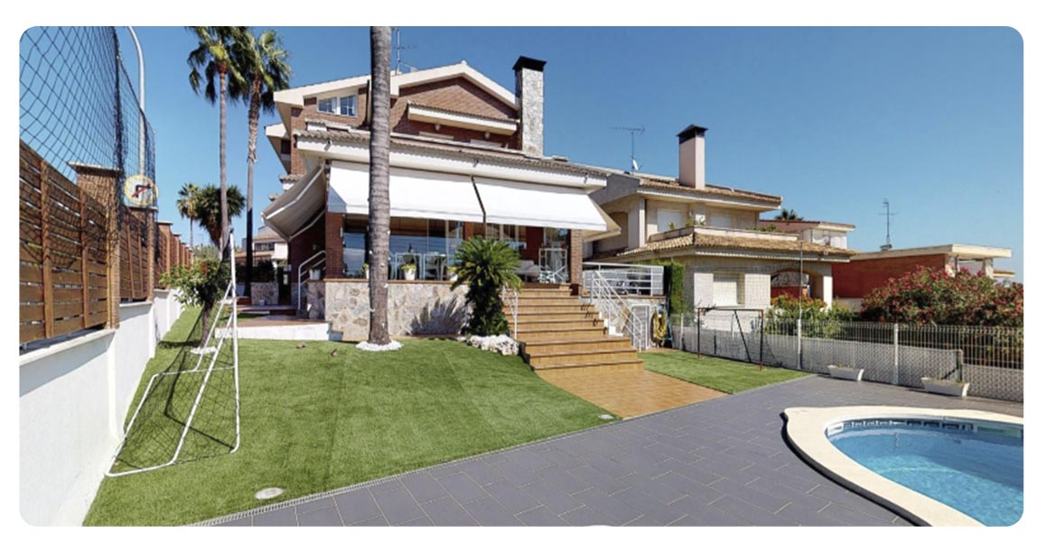 acheter maison villa castelldefels exterieur