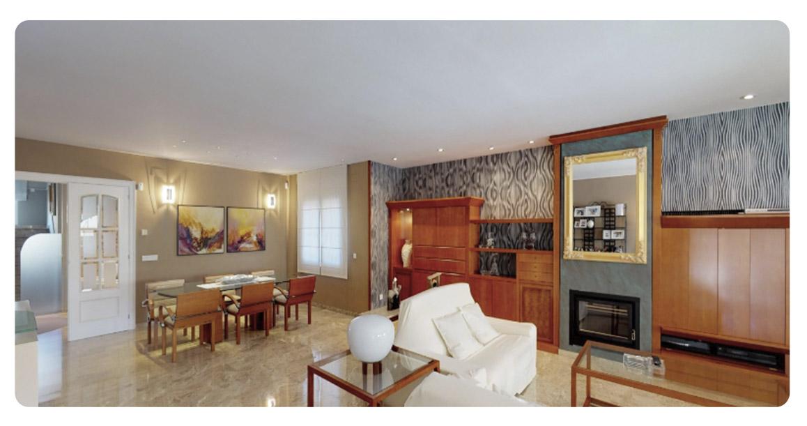 acheter maison villa castelldefels salon