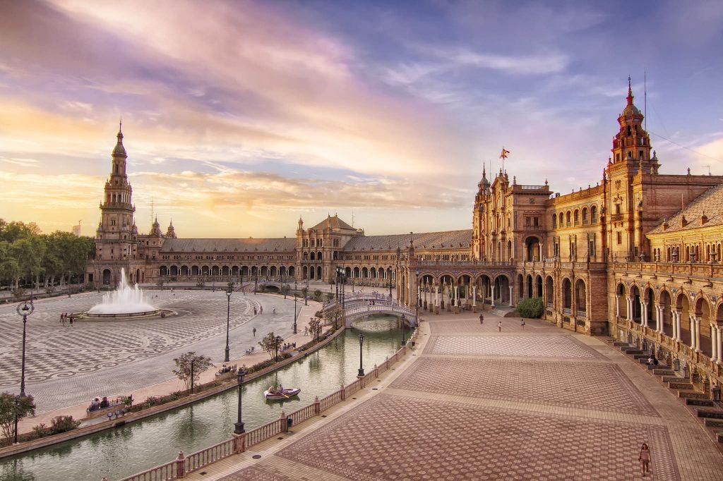 La Plaza de España à Séville