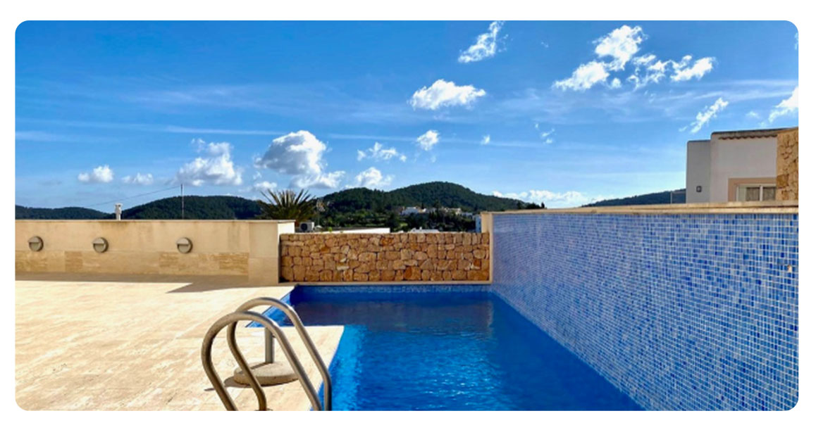 acheter appartement duplex ibiza benimussa piscine