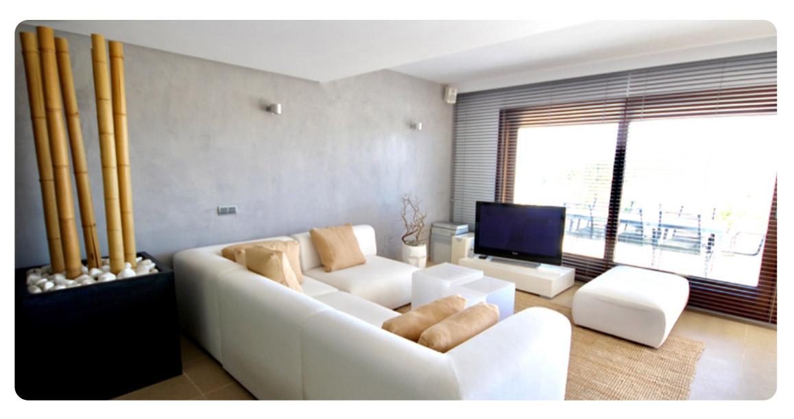 acheter appartement duplex ibiza benimussa salon
