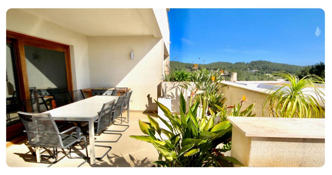 acheter appartement duplex ibiza benimussa terrasse