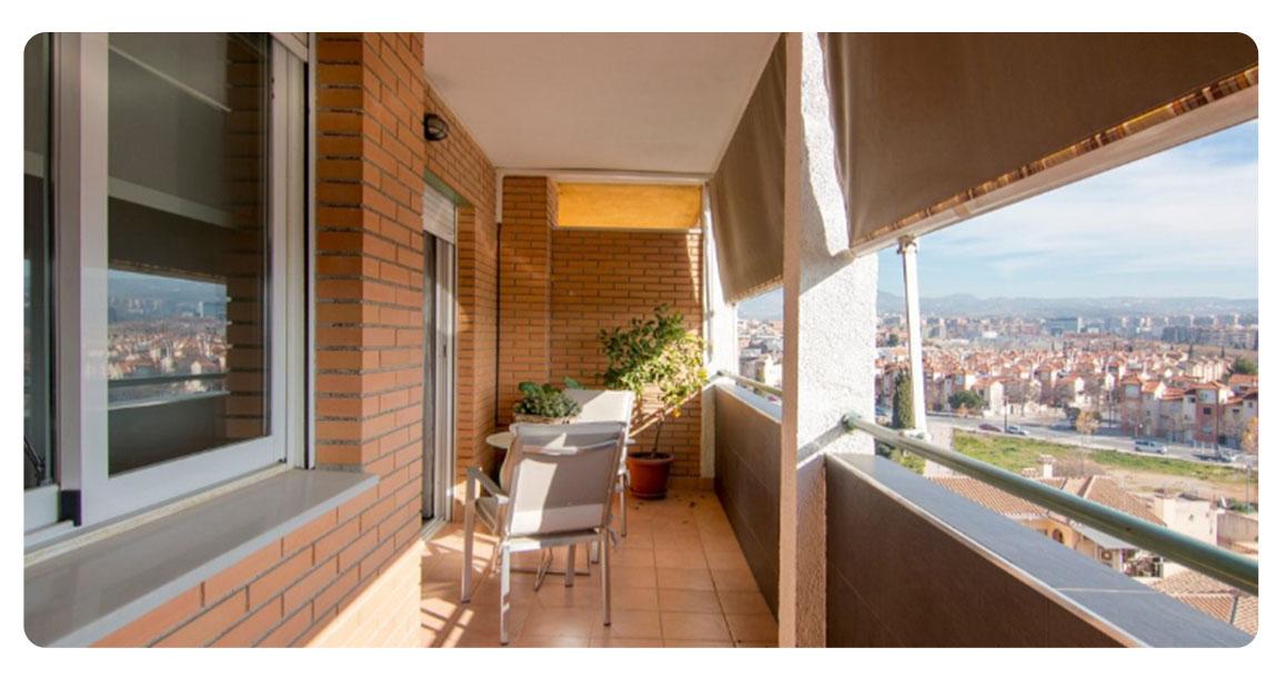 acheter appartement grenade atico balcon