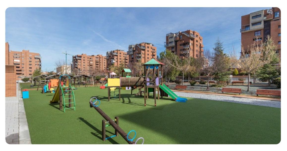 acheter appartement grenade atico urbanisation gran parque exterieur