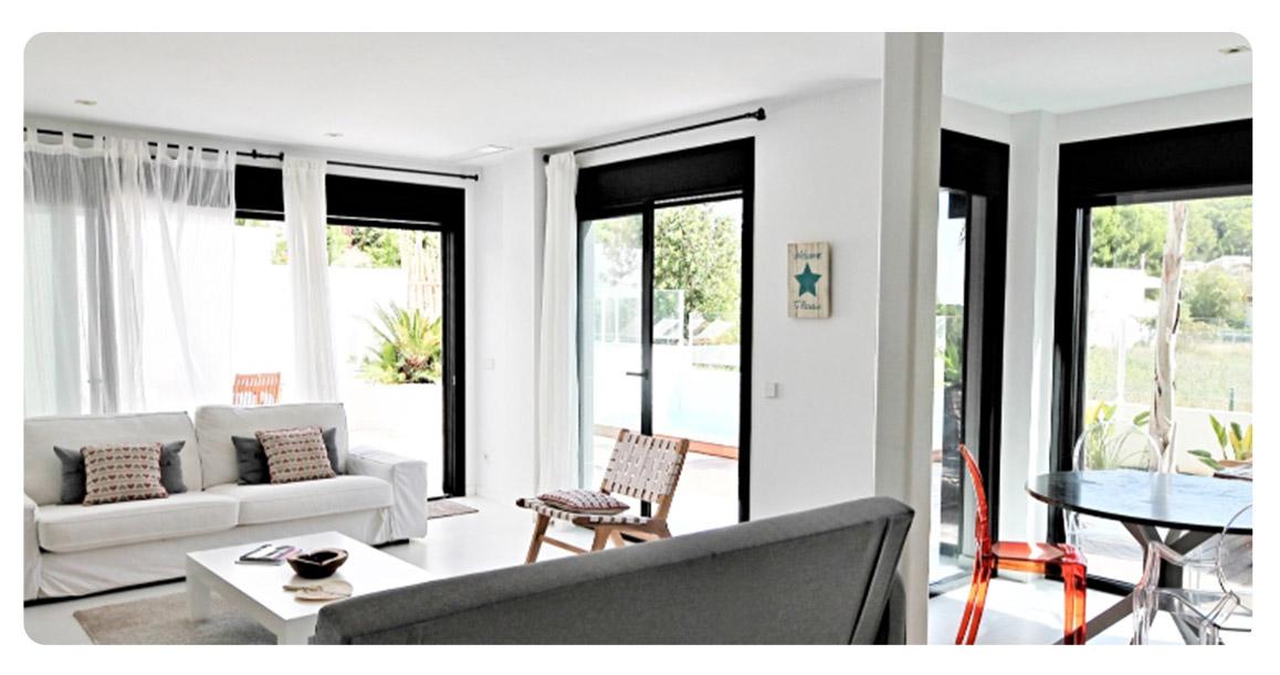 acheter appartement ibiza plage talamanca salon