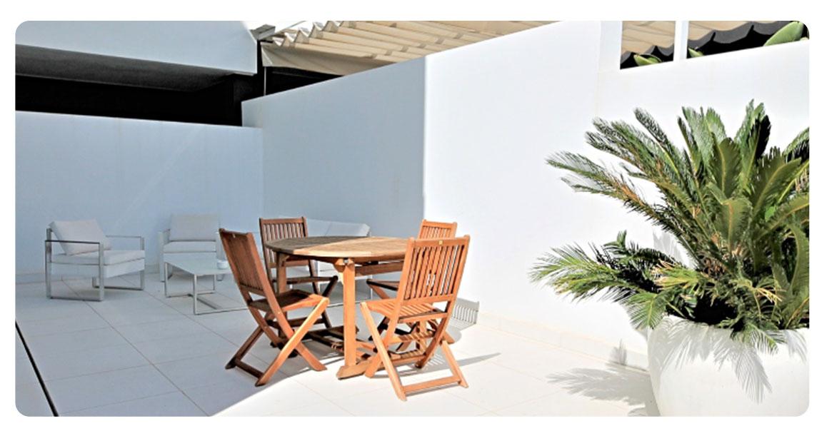 acheter appartement ibiza plage talamanca terrasse