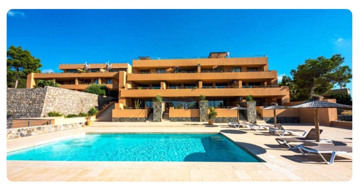 acheter appartement ibiza plages cala carbo exterieur