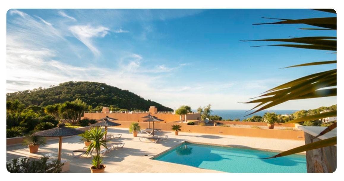 acheter appartement ibiza plages cala carbo piscine