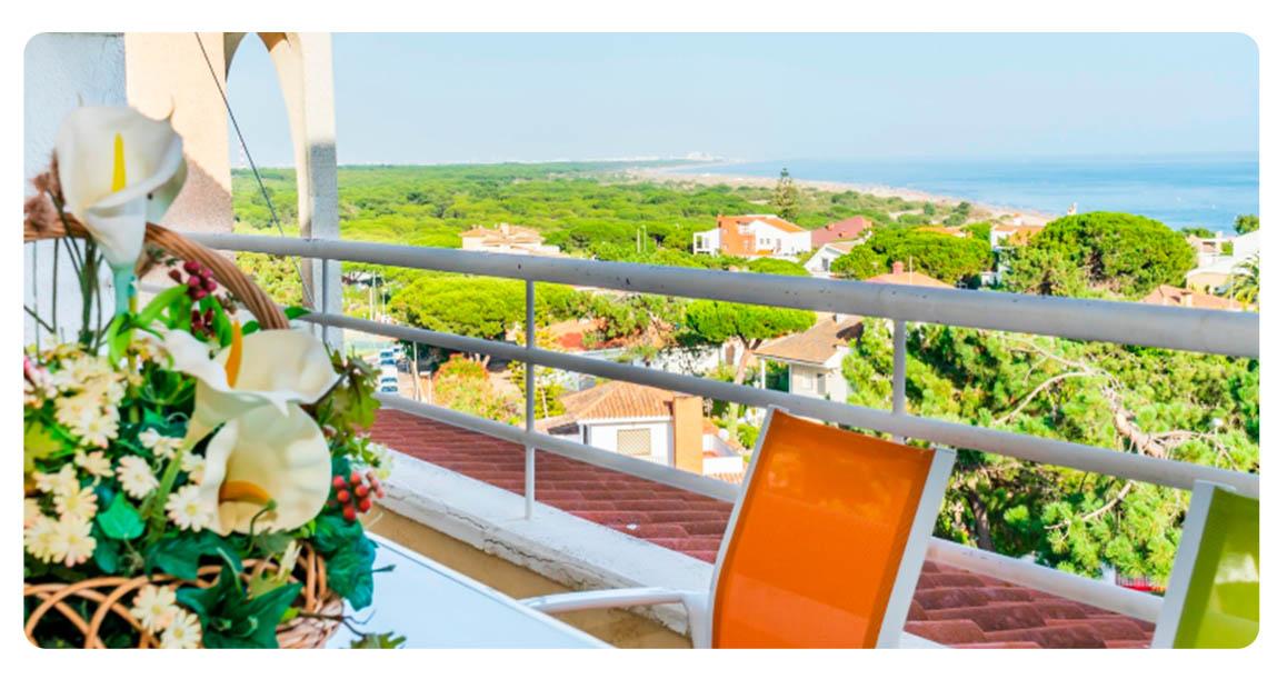 acheter appartement penthouse huelva punta umbria balcon