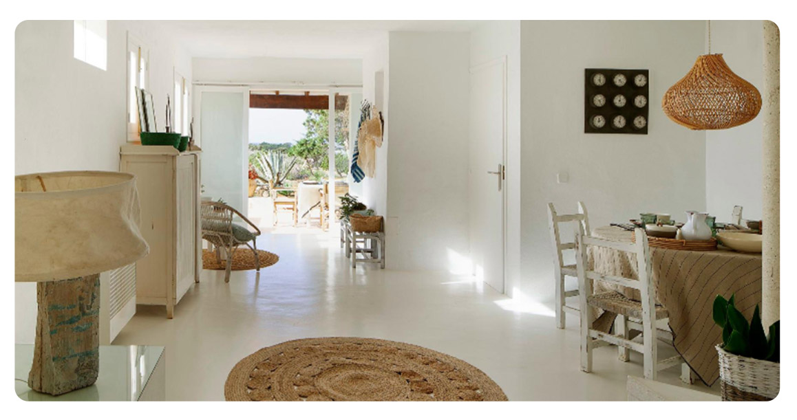 acheter maison independante ibiza formentera salle a manger