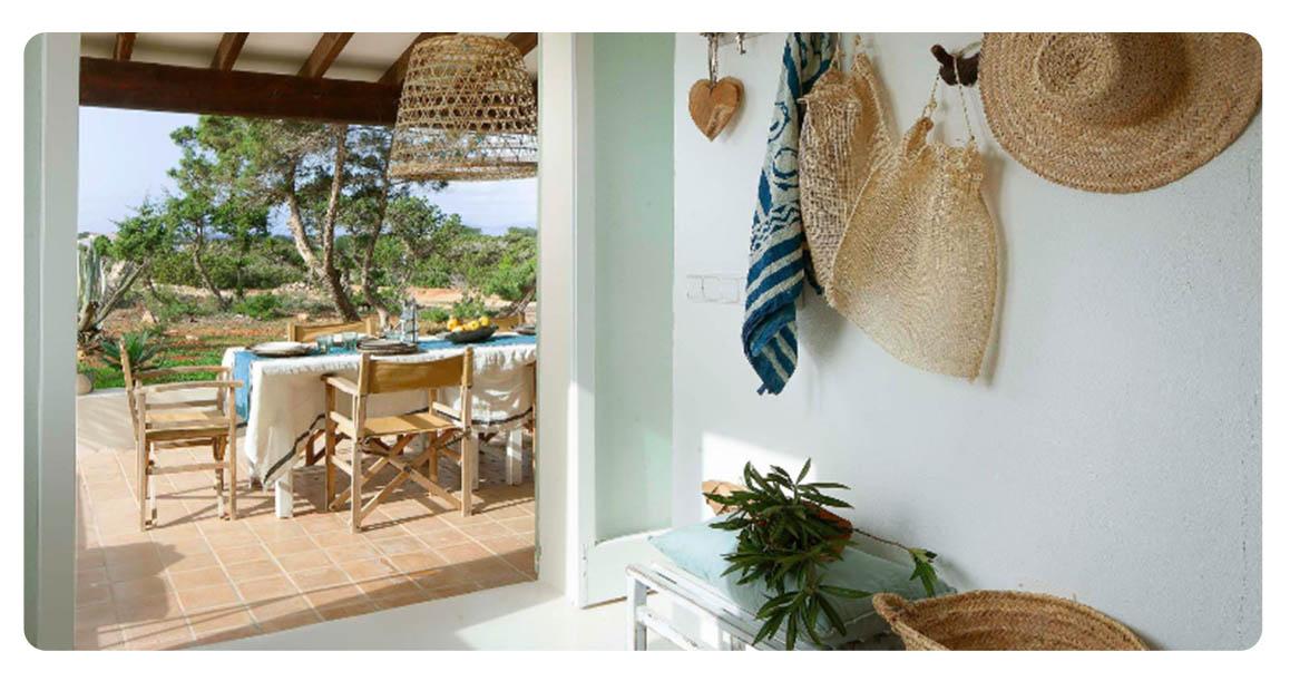 acheter maison independante ibiza formentera terrasse vue
