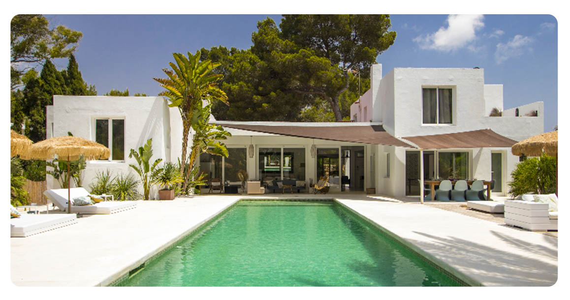 acheter maison villa ibiza jesus exterieur
