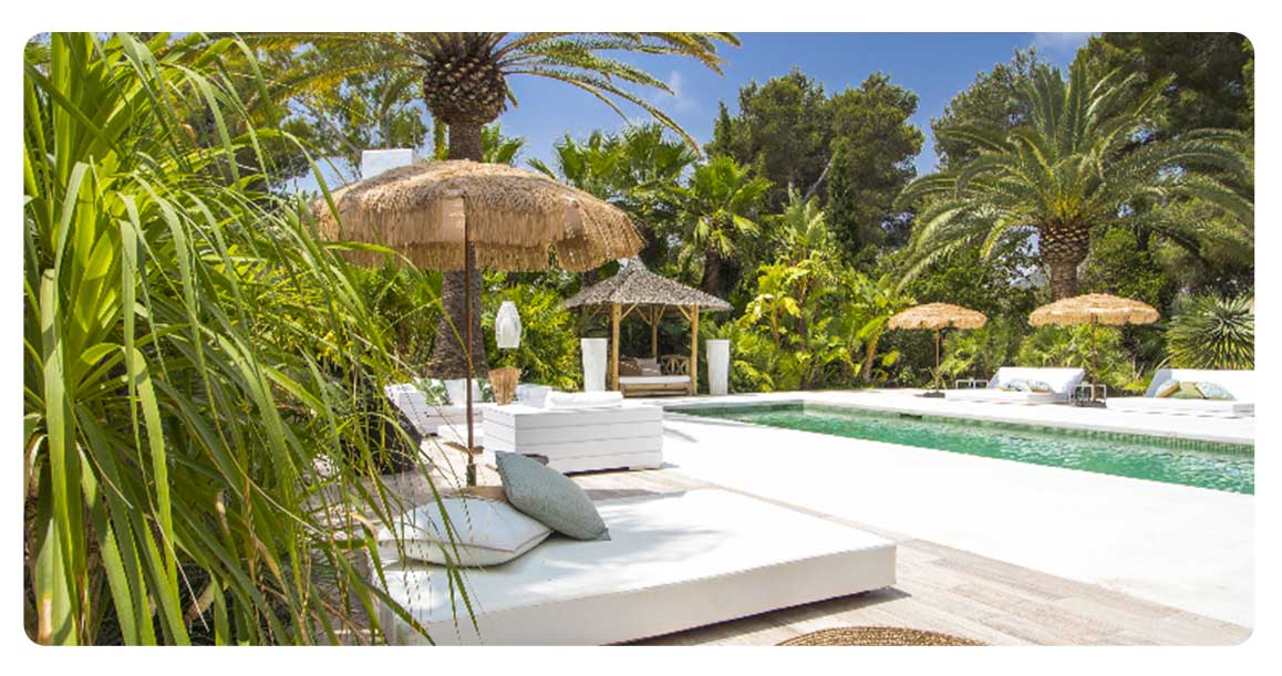 acheter maison villa ibiza jesus jardin