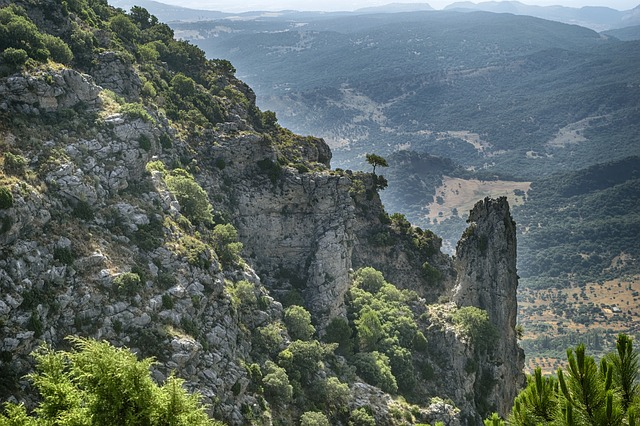 Chaine de montagnes de Cadiz