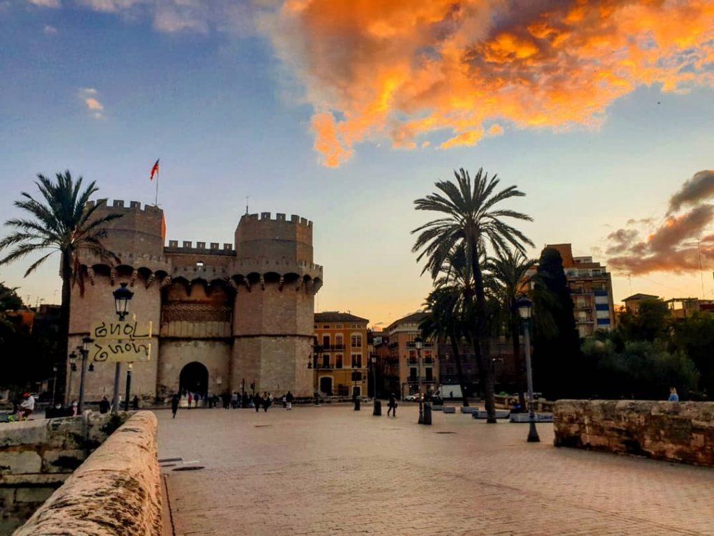 Torres de Serranos de Valence