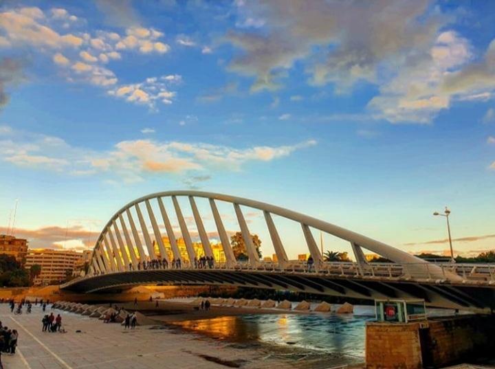 Pont Alameda sur la Turia