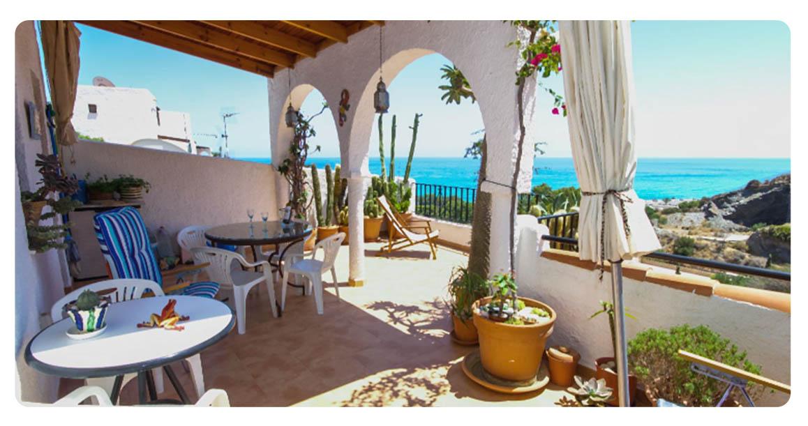 acheter appartement almeria la parata terrasse 2