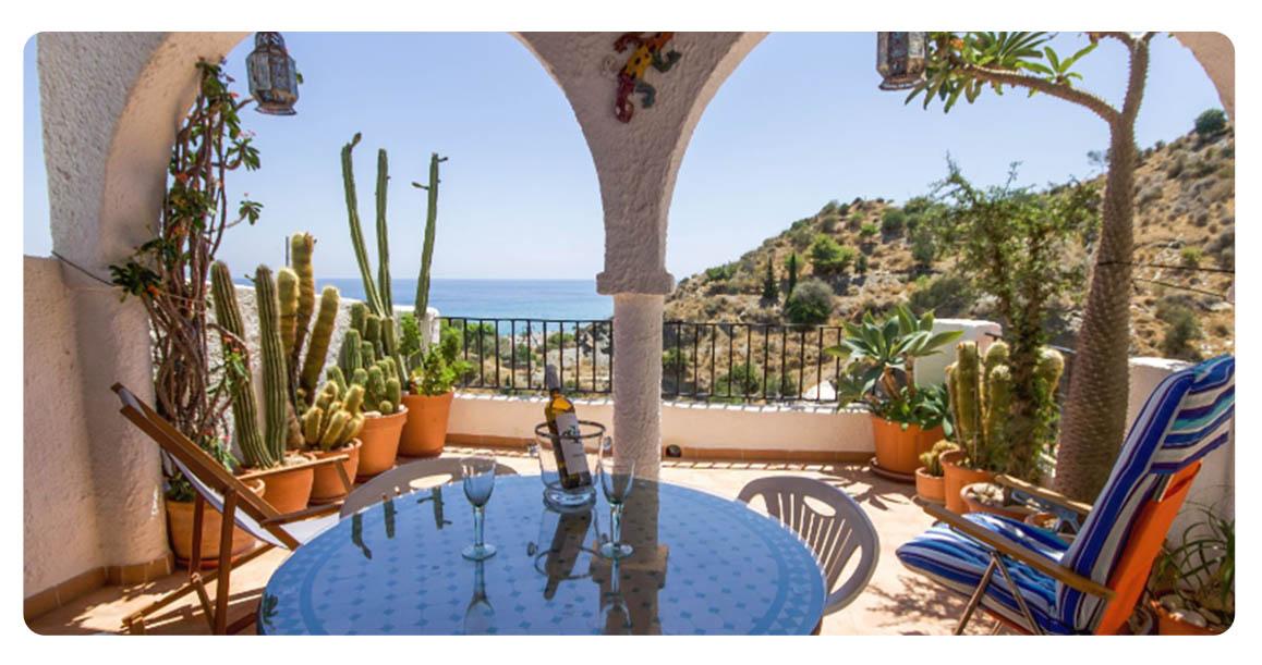 acheter appartement almeria la parata terrasse vue