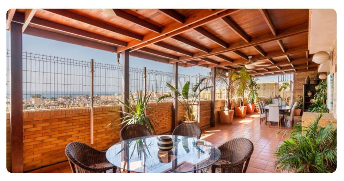acheter appartement almeria los angeles terrasse 2
