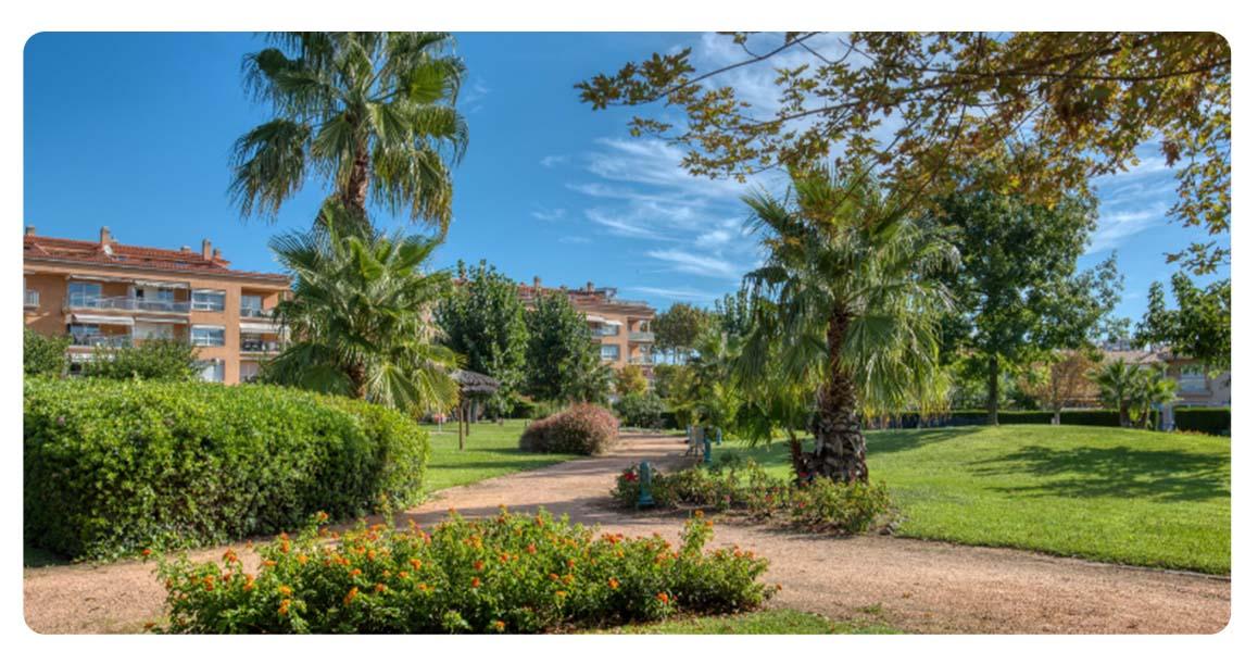 acheter appartement duplex platja de aro jardin